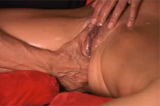 Silná extra squirt masáž