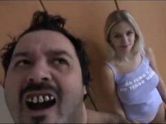 Nechutný anální porno