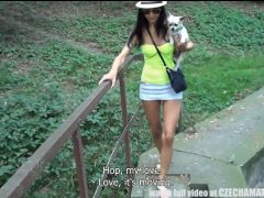 Amatéři na procházce zakončené sexem
