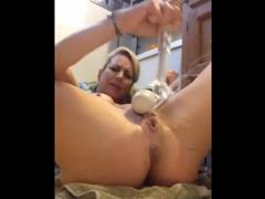 Nadržená mamča a squirt