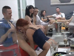 Čeští amatéři na swingers párty