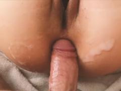 POV porno – vystříká přítelkyni zadeček