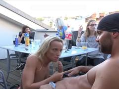 České porno – domácí amatérské orgie