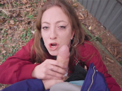 Rychlý prachy – nadržená turistka chce sex